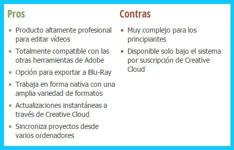 adobe premiere pro cs6 o cc, analizamos todas las versiones