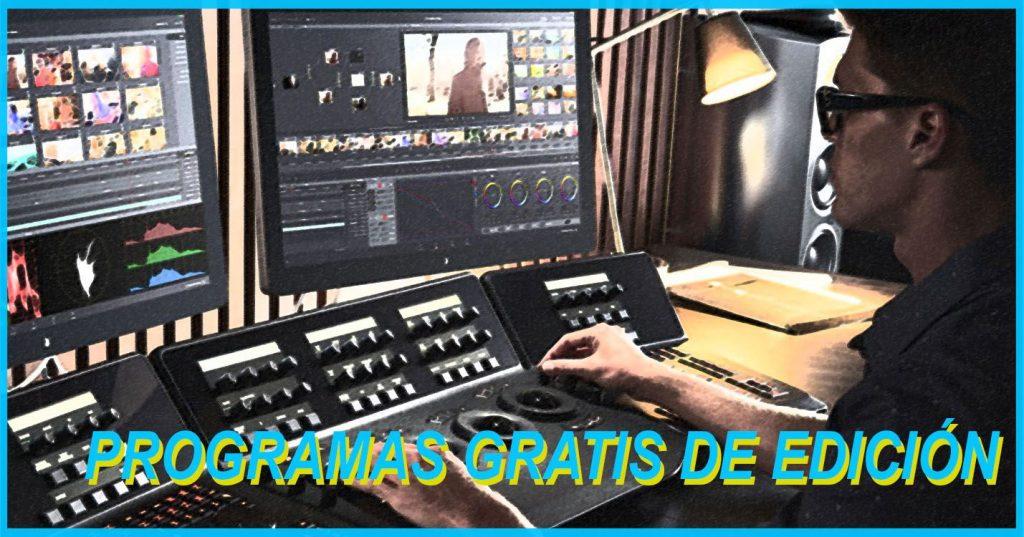 Programas Para Editar Videos Crea Y Edita Desde Tu Ordenador