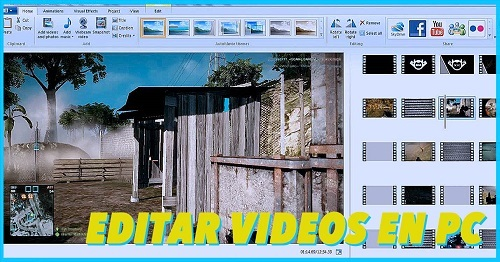 hacer videos con programas de windows