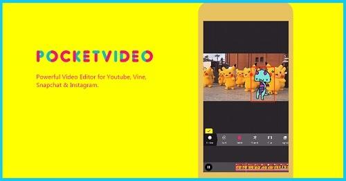 Edicion de cortos y películas con videopocket