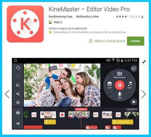 aplicacion de videos para android y iphone
