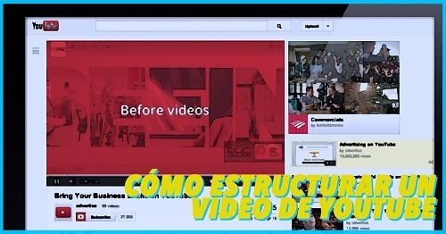 como hacer y estructurar un video para youtube