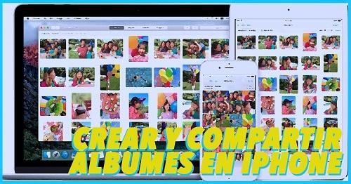 como crear y compartir fotos en albumes