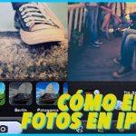 Cómo editar fotografías en iphone