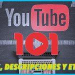 Títulos, descripciones y etiquetas para Youtube