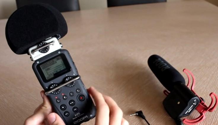 los diferentes microfonos para videos