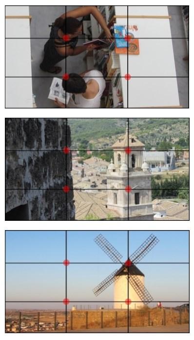 como ayuda la regla de los tercios a componer un fotograma