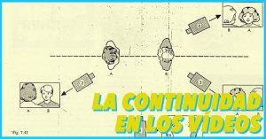 los ejes y el raccord para la continuidad en los videos